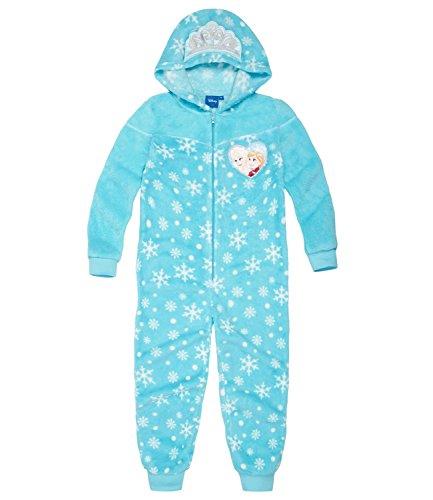 Disney Die Eiskönigin Jumpsuit 139196, Blau Bleu, 8 Jahre