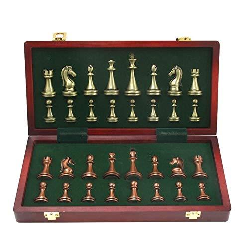 ZKL shop Juego de Juegos de ajedrez de Lustre de Lustre de Lustre de Lustre de Lustre de hidromasaje y latón