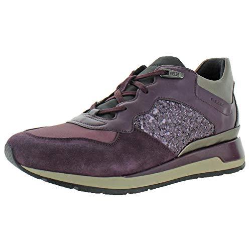 Geox Geox Damen D Nebula 4 X 4 B Abx A Hohe Sneaker, Blau (Navy), 40 EU
