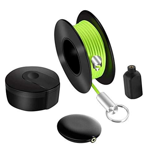 SASKATE WireMag - Juego de extractores de cables de pescado para hombre, herramienta de pesca, herramienta de pesca, cable magnético, herramientas de pesca, para la oficina y el jardín