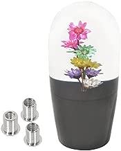 AJP Distributors Universal Transparent Flower Shift Knob (70mm, Rainbow)