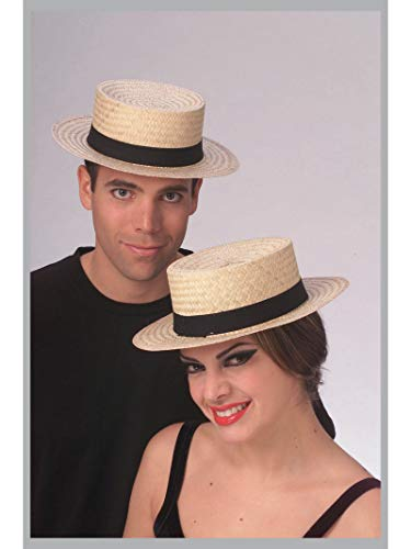 Rubie's Costume Co Economy Straw Sailor Hat Costume, Large