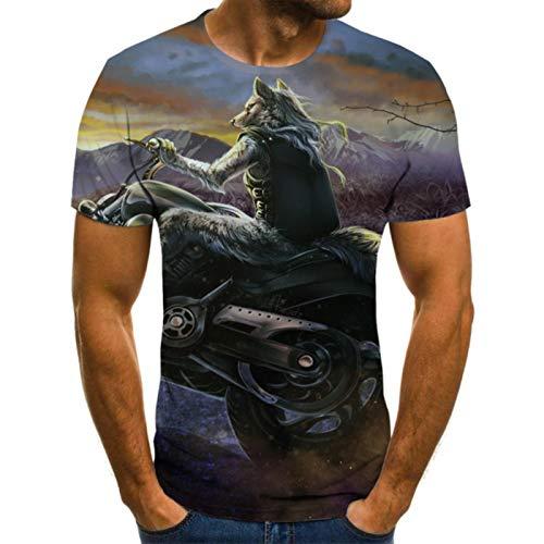 Los hombres de la moda camisas letra 3D impresión hombres camiseta transpirable Streetwear casual ropa XXS-6XL