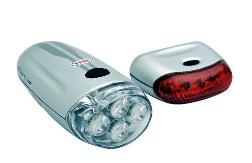 Bell Lumina LED Bike Light Set (Silver/Grey)