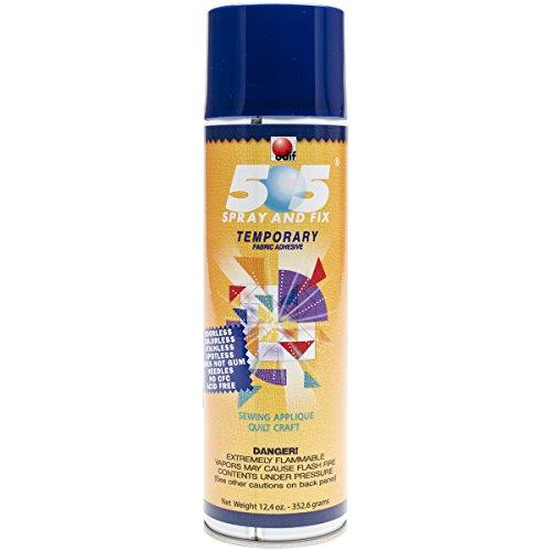Odif Usa 505 Spray and Fix Temporary Fabric Adhesive, 12.40oz