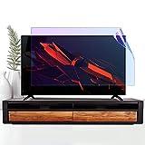 JHNEA De 32 Pulgadas Protector De Pantalla De TV, Antiazul Película Protectora Ultra Claro Antideslumbrante Filtro Protección Ojos, para LCD, LED, OLED, QLED HDTV,698X392MM