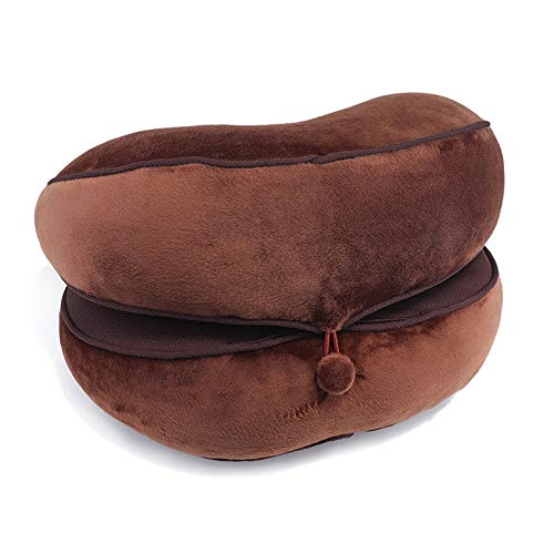 AECOR Dual Comfort Seat Cushion Pelvis Pillow Lift Hips Up Seat Cushion for Pressure Relief/Pain Beautiful Buttocks Pad