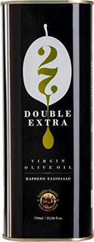 Lyrakis Family seit 1975'   Double Extra   Natives Olivenöl mit Thymian, Salbei und Dittany   750 ml