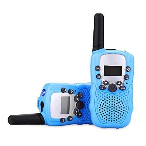Walkie - talkie para niños 3 4 5 6 7 8 9 regalos para niños de 10 años regalos para niños de 3 a 10 años regalos divertidos regalos para niños autistas juguetes de jardín