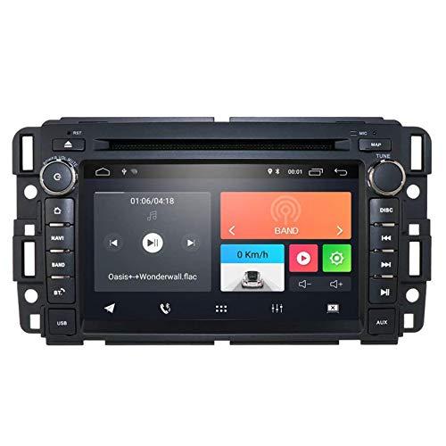 JIBO para Avana Sierra Yukon Denali Android 10 Navegacion GPS 7 Pulgadas Tocar Pantalla DVD Auto Jugador Cabeza Unidad, Auto Estéreo Radio Apoyo Bluetooth Teléfono Control RDS