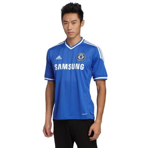 adidas, Maglietta Uomo Chelsea FC Home Jersey, Blu (Cfc Reflex Blue/white), XL