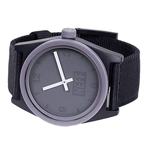 Neff Men's Daily Watch Purple Black Woven