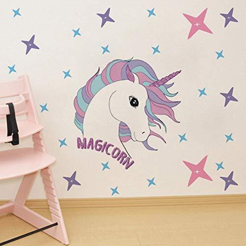 Art Decal Stickers, Star Unicorn Milieubescherming