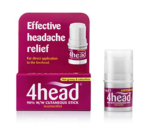 A natural way to treat headaches For direct application to the forehead Non greasy & colourless