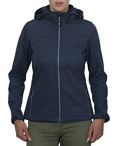 Fifty Five dames jas/jack Softshelljacke Freizeit Jacke Saint Anne Winddichte Wasserfeste Atmungsaktive Funktionsjacke Outdoorjacke