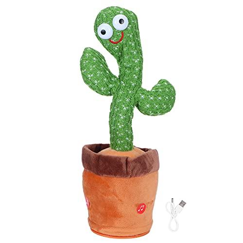Juguetes De Peluche De Cactus, 120 Piezas De Canciones Alegres Incorporadas Descomprime El Lindo Juguete De Peluche De Cactus Con Forma Exquisita Baile Canto GrabacióN Suave Juguete De Peluche Musical