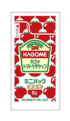 カゴメ トマトケチャップ ミニパック 8g×40袋×3箱