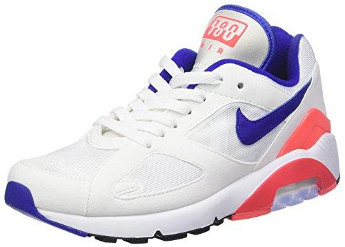 Nike W Air MAX 180, Zapatillas de Running para Mujer, Multicolor (White/Ultramarine 100), 40 EU