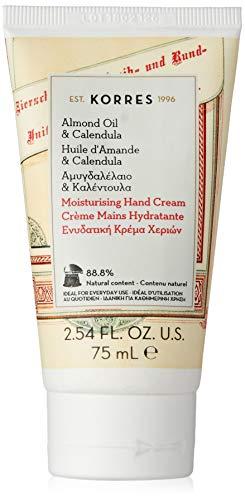 Korres Almond Oil und Calendula Handcreme, 1er Pack (1 x 75 ml)