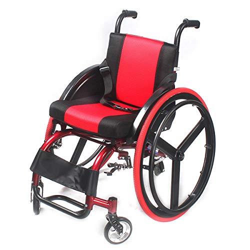Opvouwbare kinderstoel met zelfrijdende rolstoelen, lichtgewicht aluminium rolstoel, draagbare doorreisstoel, met anti-achterkantelapparaat voor binnen en buiten