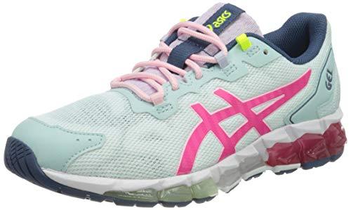 ASICS Damen Gel-Quantum 360 6 Sneaker, Aqua Angel/Pink Glo, 42 EU