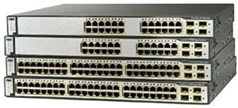 Cisco Catalyst 3750G-12S Switch Chassis. CATALYST 3750 12 SFP DC POWERED STD MULTILAYER IMAGE STK-SW. 12 x SFP