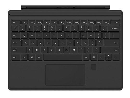 Microsoft Surface Pro Type Cover mit Fingerprint ID (QWERTZ Keyboard) schwarz