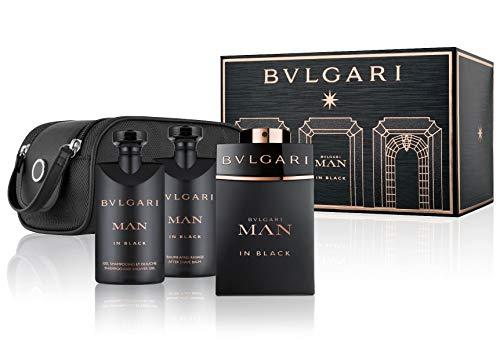 Bvlgari Man In Black Eau de Parfum Vapo + After Shave Balm + Shower Gel + Neceser 250 ml