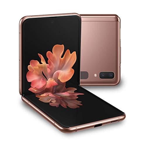 "Samsung Galaxy Z Flip 5G Smartphone, Display ext. 1.1"" Super AMOLED/int. 6.7"" Dynamic AMOLED, 256GB, RAM 8GB, Batteria 3300mAh, 5G, Single Sim/eSim, Android..."