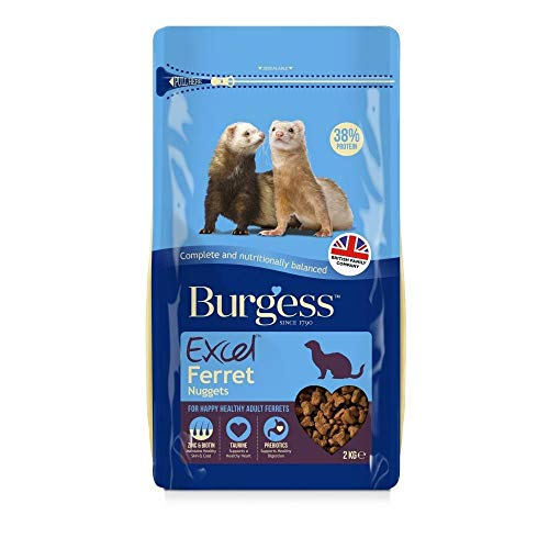 Burgess Excel - Mangime per furetti (2kg) (Multicolore)