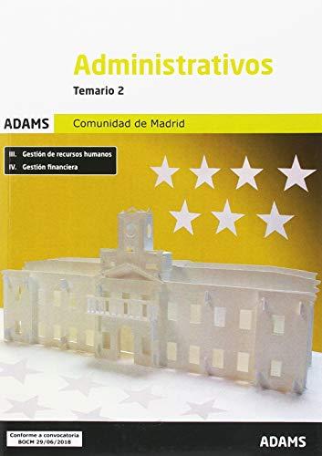 Temario 2 Administrativos Comunidad de Madrid