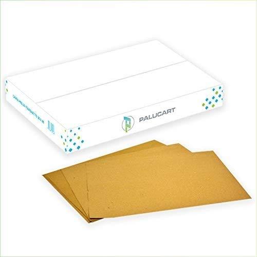 Palucart® 500 tovagliette di Carta Paglia Colore Avana 30x40 Tovagliette Americane di cartapaglia monouso Ideali Come sottopiatto Rustico e Come Copri Vassoio