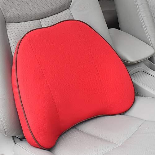 Ademend, afneembaar en wasbaar. Auto-gordel. Langzaam rebound-geheugen. Kussen van schuimrubber. Snelle start van nieuwe auto met zachte en comfortabele riem. 43 x 12 x 36 cm.