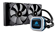Three 120mm CORSAIR ML Series magnetic levitation PWM fans deliver improved airflow for extreme CPU cooling performance. 16 Individually addressable RGB LEDs light up the pump head to produce stunning, customizable lighting effects to match your buil...
