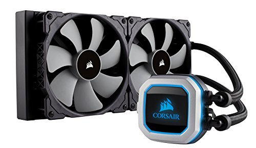 CORSAIR HYDRO Series H150i PRO RGB AIO Liquid CPU Cooler,360mm,Triple ML120 PWM Fans, Intel 115x/2066, AMD AM4 (Renewed)
