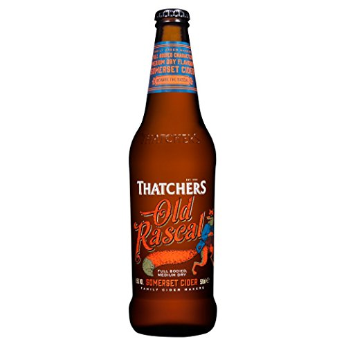 6 Flaschen Thatchers Rascal Somerset Cider English Cider a 500ml 4,5% Vol. Apfelwein Thatcher´s