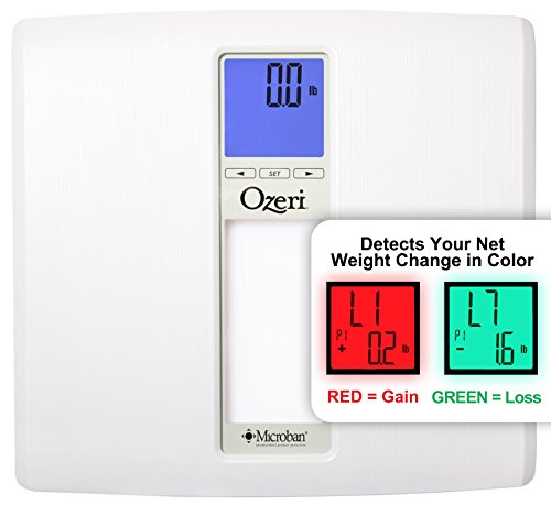 Best Deals! Ozeri ZB20 WeightMaster II 440 lbs Digital Bath Scale with BMI and Weight Change Detecti...