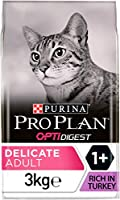 Complete and balanced dry food for Adult cats 1+ with sensitive digestion or fussy appetites Contains OPTIDIGEST, a special combination of ingredients including natural prebiotics to help promote digestive health Helps improve food tolerance due to a...