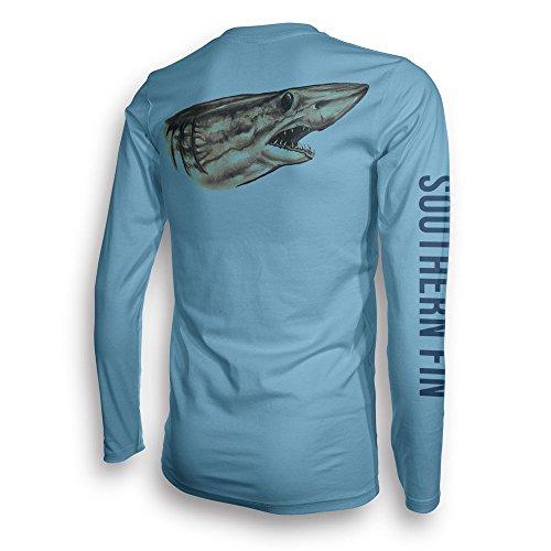Camiseta de pesca de manga larga para hombres y mujeres, UPF 50 Dri-Fit Performance Ropa – Southern Fin Apparel
