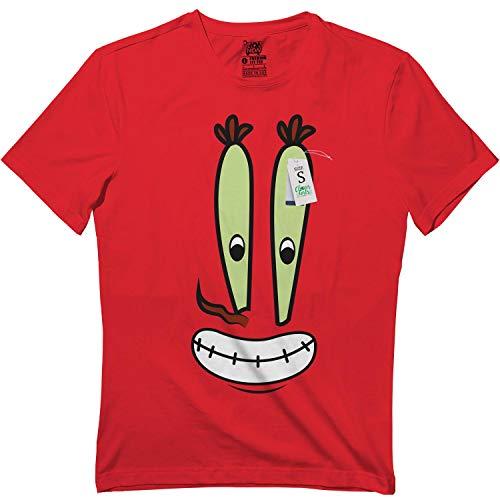 CLOVER GIRLS Krabs-Halloween Crabs Group Costume Cartoon Face Funny NZ9 T-Shirt Red