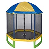 Jump Zone 7 ft My First Trampoline with Tent Top Combo