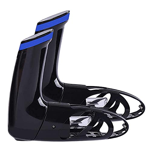 JIEZ Secador de Zapatos Calentador de Botas eléctrico, Guantes portátiles retráctiles Calentador de Calzado, con Temporizador y Desodorante Desodorante de ozono Secado Previene el Olor