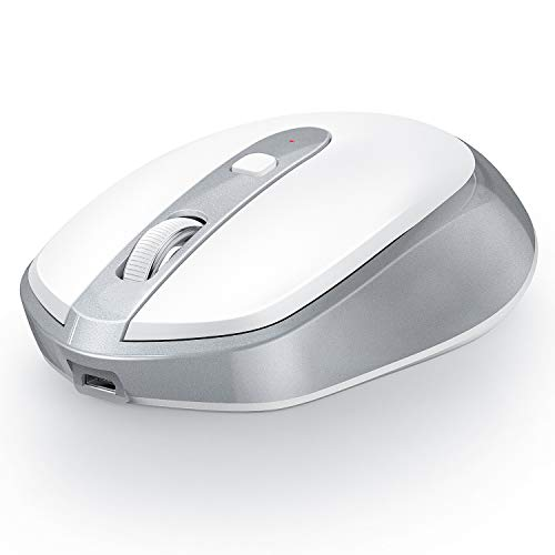 jelly comb bluetooth mouse white