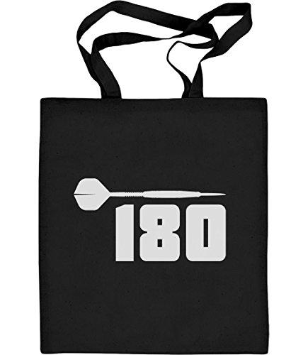 Shirtgeil Dart 180 - motief voor dartspelers en fans jute zak katoenen tas