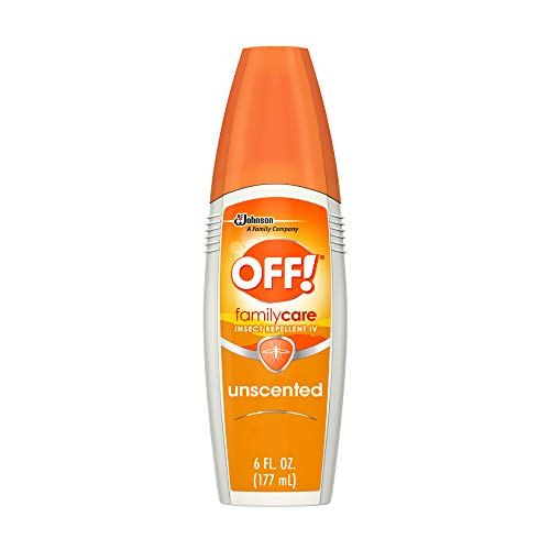 OFF! Family Care Insect & Mosquito Repellent, Unscented with Aloe-Vera,7% Deet 6 oz. (Pack of 12)