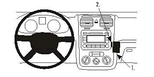 Brodit Proclip angled mount für VW Eos, Golf V, Jetta, Scirocco