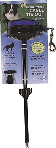 Lixit Retractable Cable Dog Tie Out