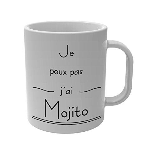 YONACREA - Mug Tasse - Je Peux Pas J'Ai Mojito