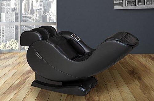 WELCON Massagesessel EASYRELAXX in SCHWARZ - unser Neuer Massagestuhl - Neigungsverstellung elektrisch Automatikprogramme Knetmassage Klopfmassage Rollenmassage Sessel Massagestuhl