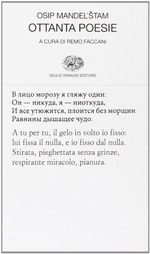 Ottanta poesie. Testo russo a fronte